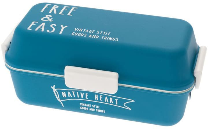 Free & Easy Blau Lunchbox Jamei Bento 785300136108 Bild Nr. 1