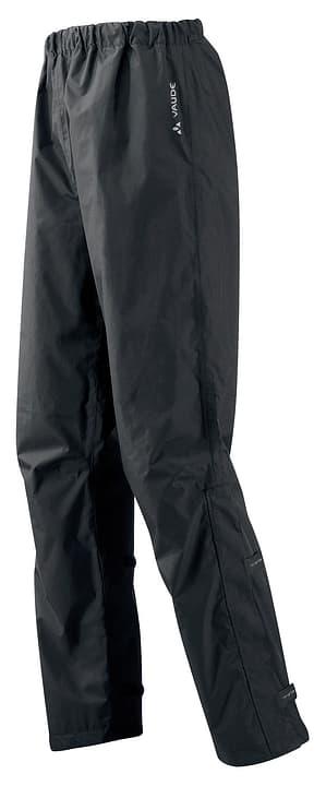 Fluid Pantalone da pioggia da uomo Vaude 477683800320 Colore nero Taglie S N. figura 1