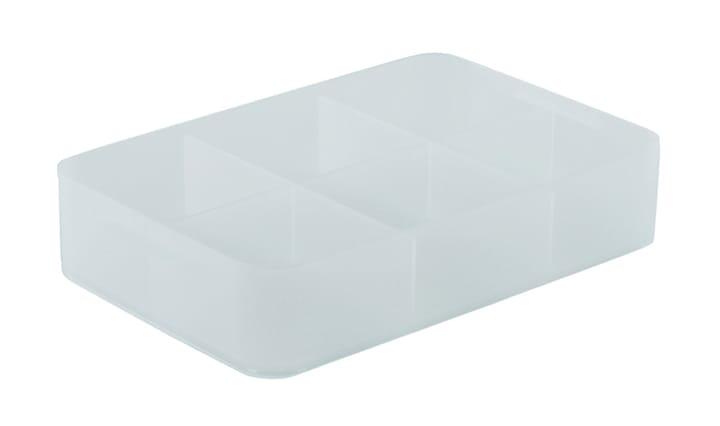 Pure Box A5 mit Unterteilung Rotho 603628800000 Grösse L: 242.0 mm x B: 155.0 mm x H: 46.0 mm Farbe Transparent Bild Nr. 1