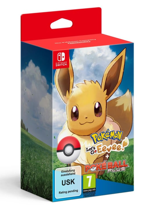 Pokémon: Let's Go, Évoli!+ Pokéball Plus Fisico (Box) 785300137093 N. figura 1