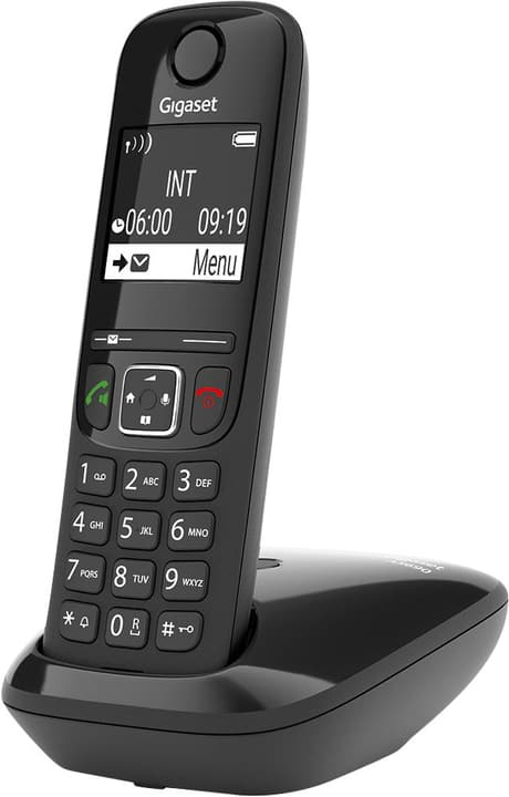 A S690 Schwarz Festnetz Telefon Gigaset 794060600000 Bild Nr. 1