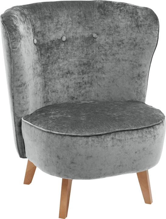 GOETHE Fauteuil 402689107085 Dimensions L: 78.0 cm x P: 77.0 cm x H: 84.0 cm Couleur Pierre Photo no. 1