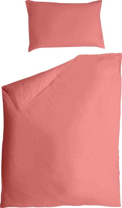 ZARA Fourre de duvet en lin 451255712331 Couleur Rouge Dimensions L: 160.0 cm x H: 210.0 cm Photo no. 1