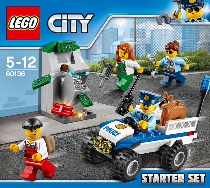 LEGO City Starter set della Polizia 60136 748833400000 N. figura 1