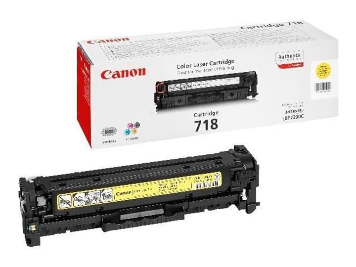Toner-Modul 718 gelb Canon 797550100000 Bild Nr. 1