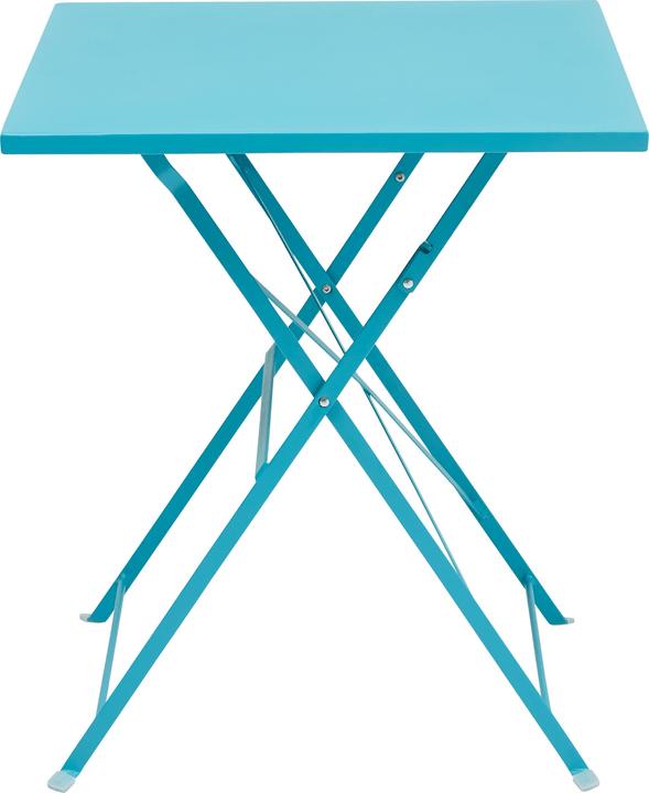 PAGAN Table pilante 408005700066 Dimensions L: 60.0 cm x P: 60.0 cm x H: 70.0 cm Couleur Pétrole Photo no. 1