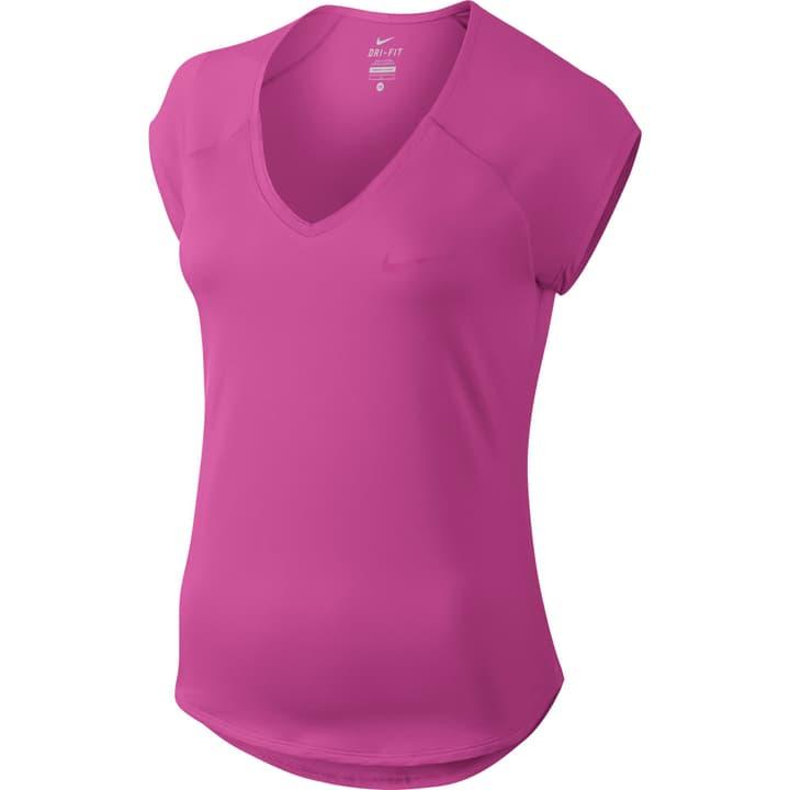 Court Pure Tennis Top T-shirt de tennis pour femme Nike 473216200337 Colore fucsia Taglie S N. figura 1