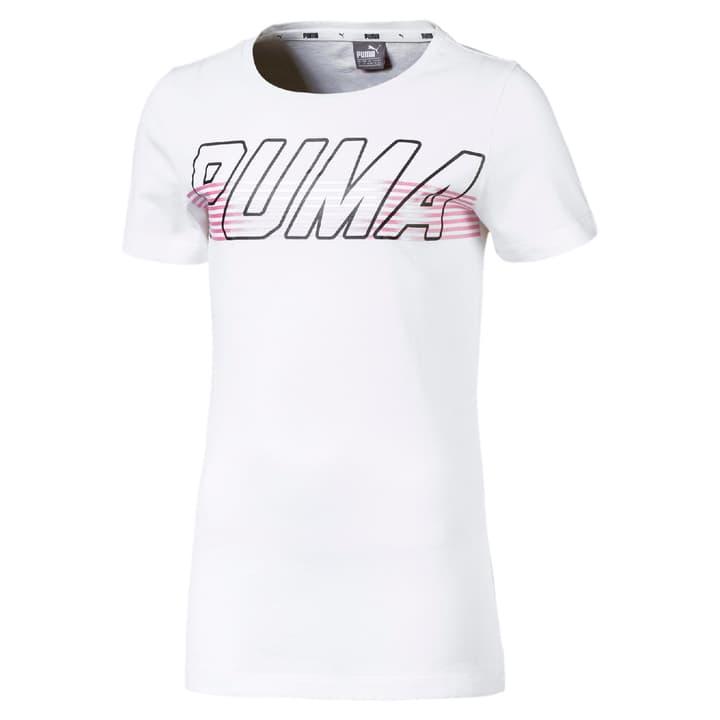 ALPHA Logo Tee 1 G Mädchen-Shirt Puma 466905712810 Farbe weiss Grösse 128 Bild-Nr. 1