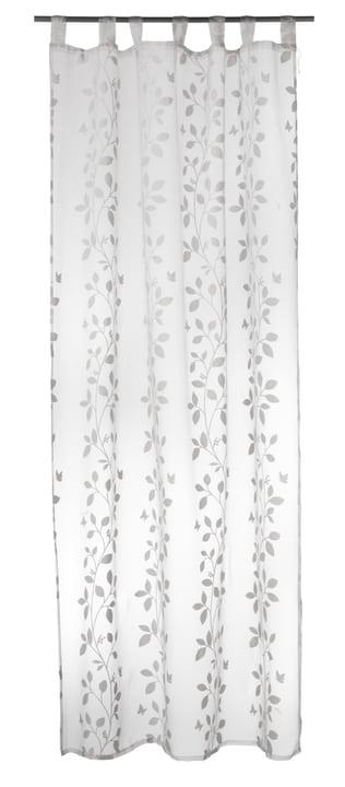 DELIA Rideau prêt à poser jour 430250221210 Couleur Blanc Dimensions L: 145.0 cm x H: 250.0 cm Photo no. 1