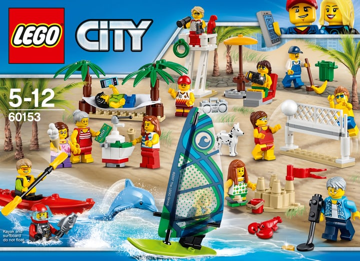 LEGO City People pack – Divertimento in spiaggia 60153 748844900000 N. figura 1