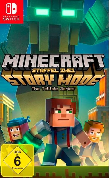 NSW - Minecraft Story Mode - Staffel 2 D Box 785300136906 Photo no. 1