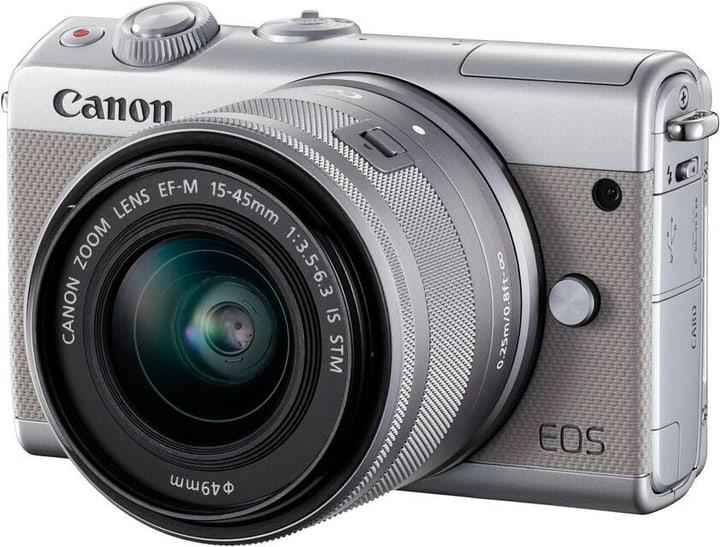 EOS M100 15-45mm KIT grigio, 24,2 MP Canon 785300144987 N. figura 1