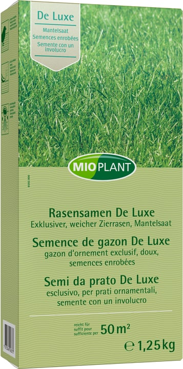 Semence de gazon De Luxe, 50 m2 Mioplant 659290000000 Photo no. 1