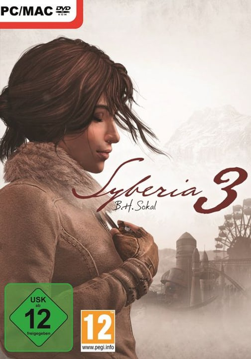 PC - Syberia 3 Box 785300122175 Photo no. 1
