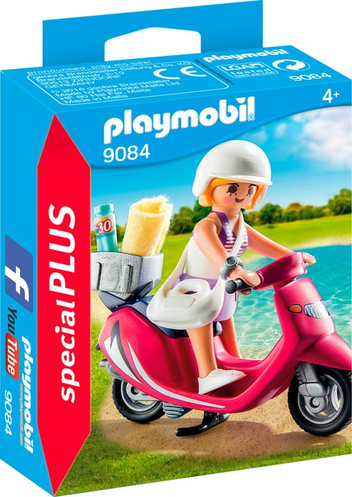 Playmobil Special Plus Ragazza con scooter 9084 746075000000 N. figura 1