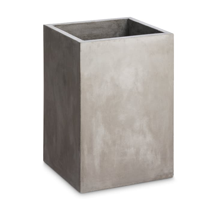 LONE QUADRAT Cache-pot 382066900000 Dimensions L: 31.0 cm x P: 31.0 cm x H: 44.0 cm Couleur Gris Photo no. 1