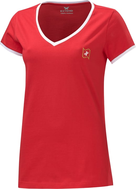 Schweiz / Suisse / Svizzera Maillot de supporter de football Extend 498284100430 Couleur rouge Taille M Photo no. 1