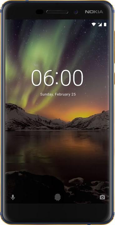 6.1 (2018)  Dual SIM 32GB nero Smartphone Nokia 785300133244 N. figura 1