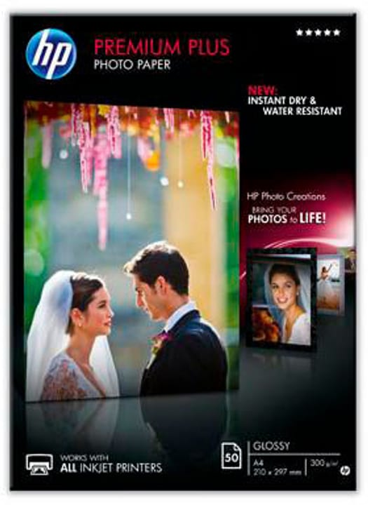 CR 674A Premium Plus Photopaper glossy HP 797521400000 Bild Nr. 1