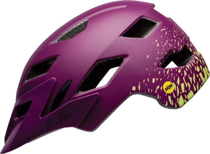 Sidetrack Youth Casque de velo Bell 465011050045 Couleur violet Taille 50-57 Photo no. 1