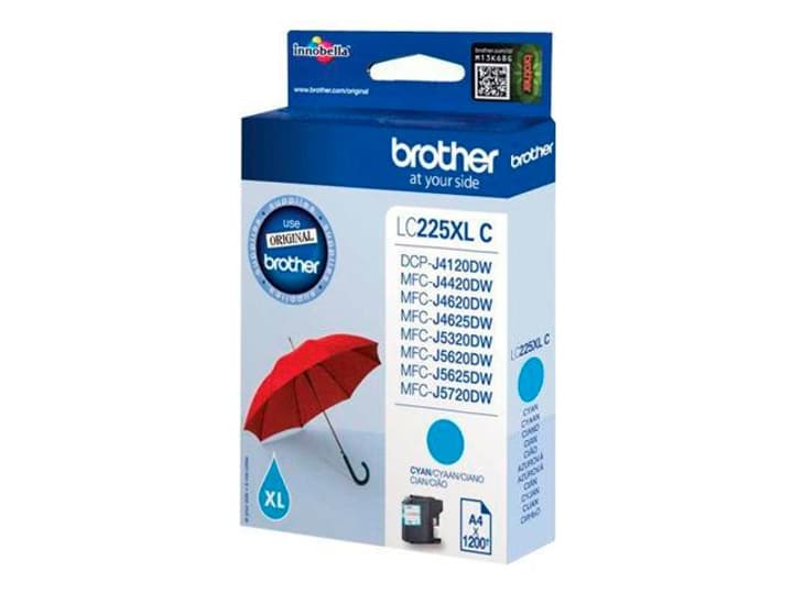 LC-225XLC  cyan Cartuccia d'inchiostro Brother 795837300000 N. figura 1