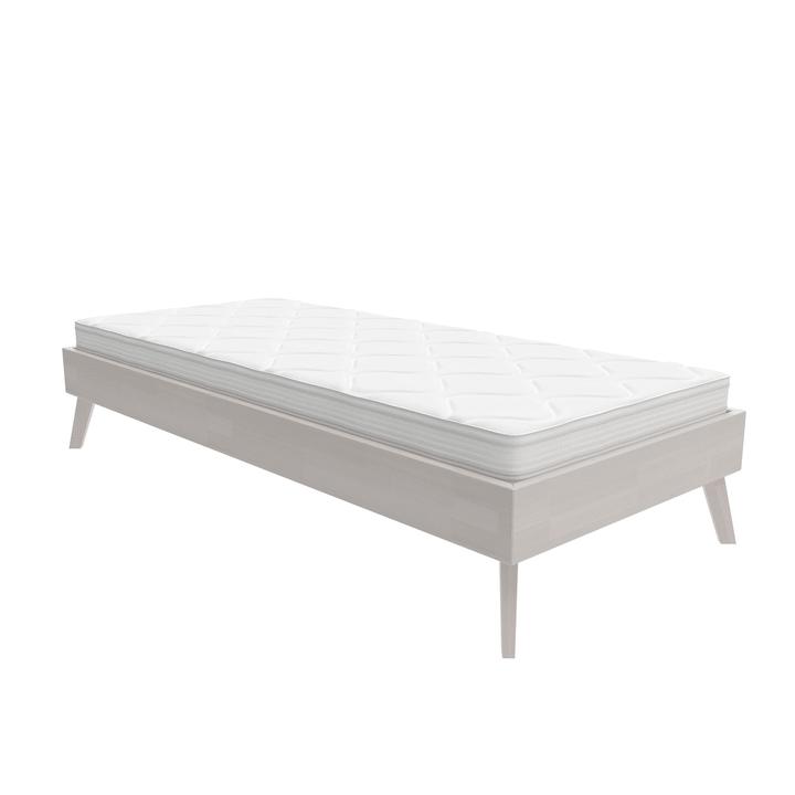 WOODLINE Bett HASENA 403550200000 Farbe Weiss Grösse B: 120.0 cm x T: 200.0 cm Bild Nr. 1