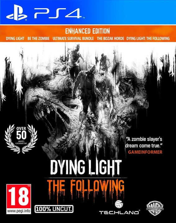PS4 - Dying Light: The Following Enhanced Edition 785300120819 Photo no. 1