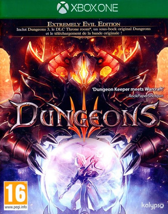 Xbox One - Dungeons 3 F Physique (Box) 785300130008 Photo no. 1