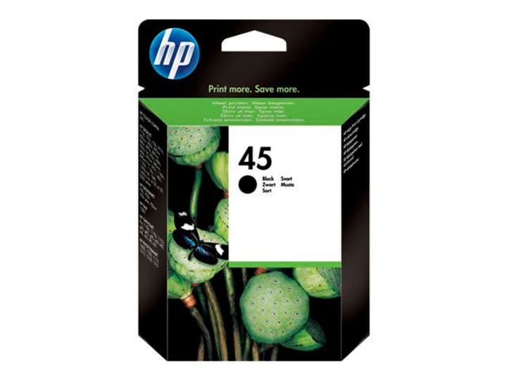 51645AE nr. 45 black Cartuccia d'inchiostro HP 797420600000 N. figura 1