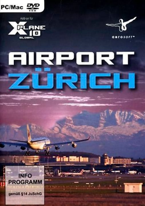 PC/Mac - Airport Zürich für X-Plane 10 (Add-On) Box 785300129576 Bild Nr. 1