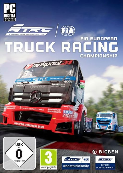 PC - FIA European Truck Racing Championship D/F Box 785300144366 Photo no. 1