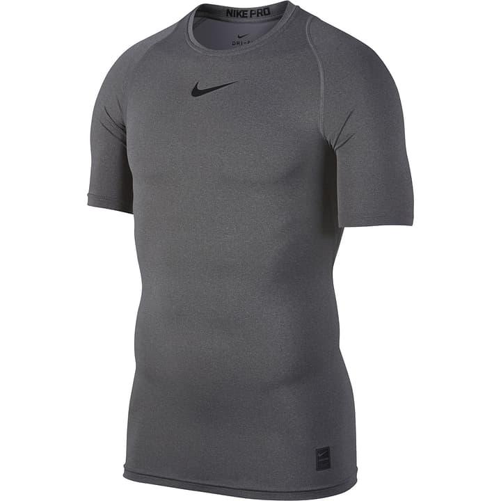Pro Top Shortsleeve Comp Shirt de football pour homme Nike 498279500486 Couleur antracite Taille M Photo no. 1