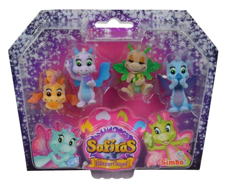 Safiras Figures aile Glitter mis, 4-sort. 746548200000 Photo no. 1