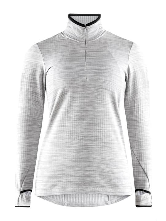 Grid Halfzip W Maillot à manches longues pour femme Craft 498517700581 Couleur gris claire Taille L Photo no. 1