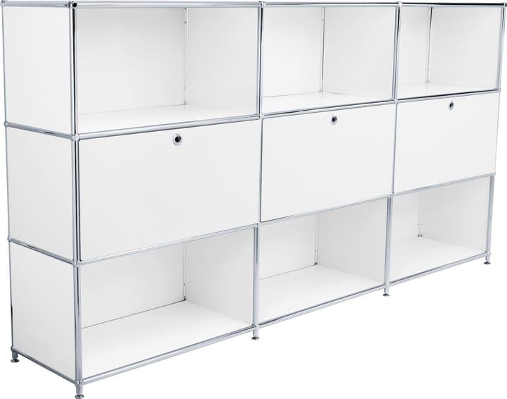 FLEXCUBE Buffet alto 401809800010 Dimensioni L: 227.0 cm x P: 40.0 cm x A: 118.0 cm Colore Bianco N. figura 1