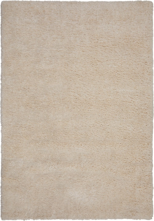 LUXURY SHAGGY UNI Tapis 411968216010 Couleur blanc Dimensions L: 160.0 cm x P: 230.0 cm Photo no. 1