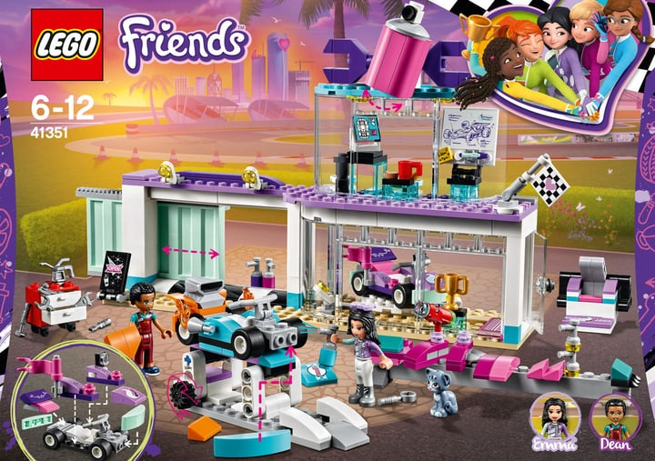 Lego Friends Officina creativa 41351 748882500000 N. figura 1