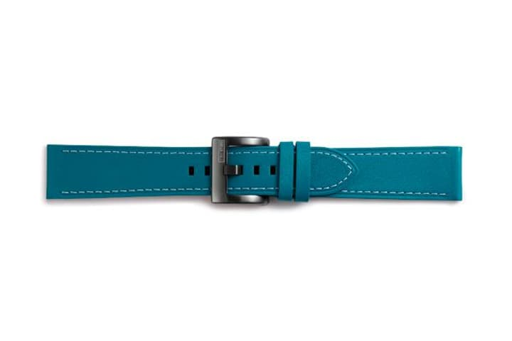 Galaxy Watch (42 mm) Strap Studio Classic Leather Strap 20 mm blau Armband Samsung 785300138275 Bild Nr. 1