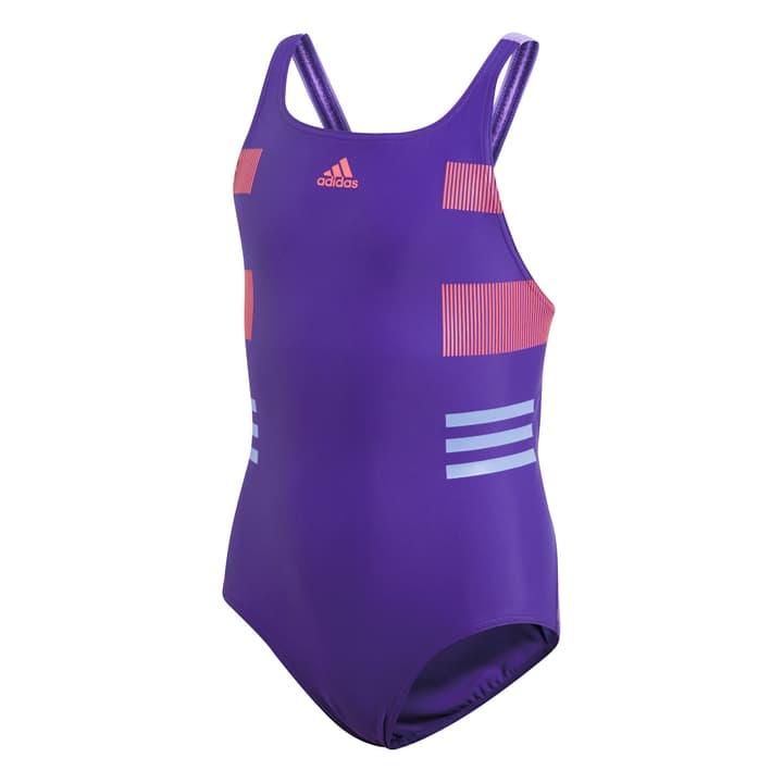 BY LOGO SUIT Mädchen-Badeanzug Adidas 464527616445 Farbe violett Grösse 164 Bild-Nr. 1