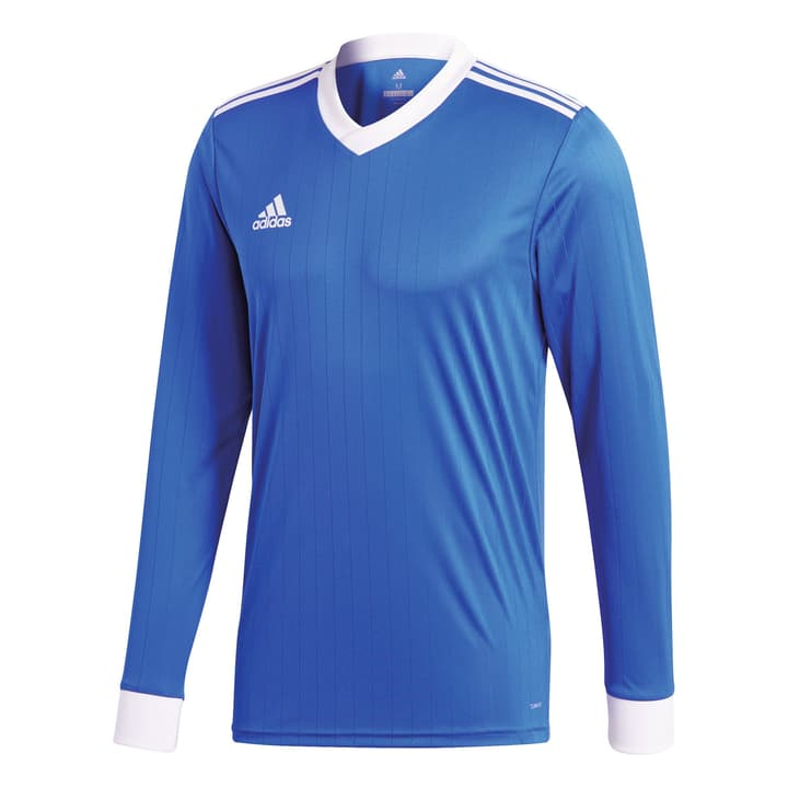 Tabela 18 Jersey Long Sleeve T-shirt de football pour enfant Adidas 464562412840 Couleur bleu Taille 128 Photo no. 1