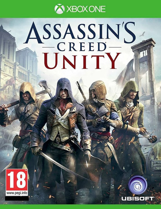 Xbox One - Assassin's Creed Unity Box 785300121824 Bild Nr. 1