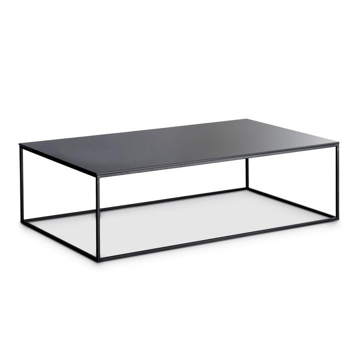 COFFEE table club 362221600000 Couleur Noir Dimensions L: 120.0 cm x P: 70.0 cm x H: 36.0 cm Photo no. 1