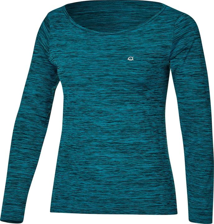 Anne Long Sleeve Maillot à manches longues pour femme Liquido 464990700340 Couleur bleu Taille S Photo no. 1