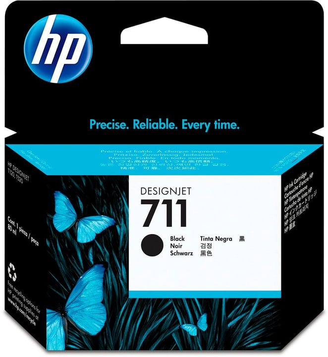711 CZ133A 80ml nero Cartuccia d'inchiostro HP 795849600000 N. figura 1