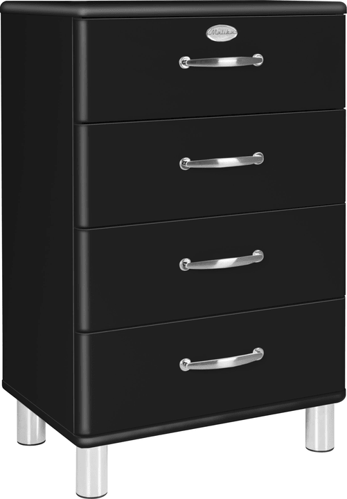 MALIBU Commode 407021700000 Dimensions L: 60.0 cm x P: 41.0 cm x H: 92.0 cm Couleur Noir Photo no. 1
