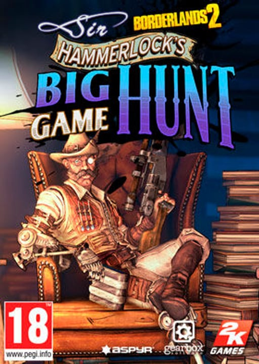 Mac - Borderlands 2: Sir Hammerlock's Big Game Hunt Digital (ESD) 785300133563 Bild Nr. 1