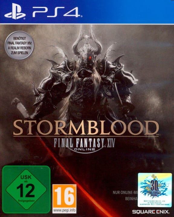 PS4 - Final Fantasy XIV: Stormblood Physique (Box) 785300122328 Photo no. 1