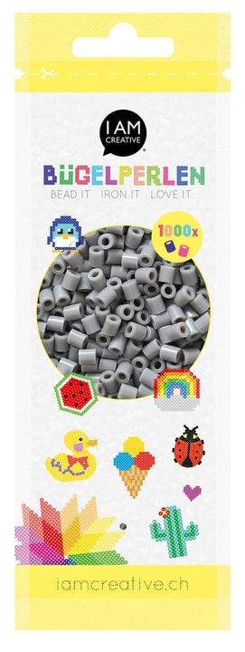 Perlini stiratura grigio 1'000 pzz. 666540800170 Colore Grigio N. figura 1