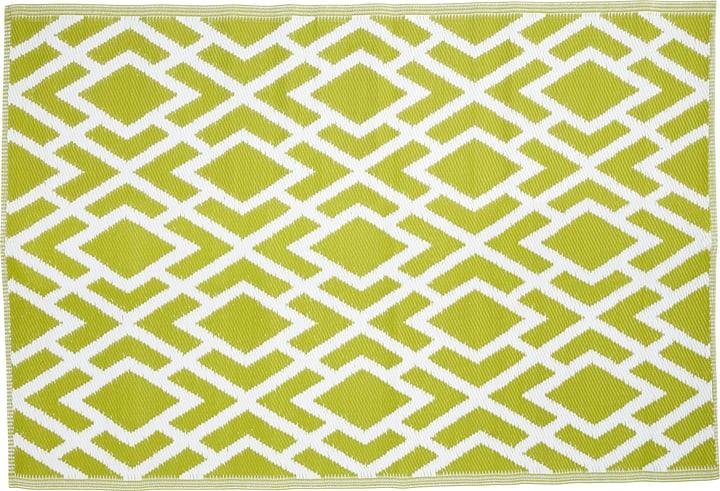 tapis extérieur 150 x 90 cm 753029100060 Couleur Vert Taille L: 150.0 cm x L: 90.0 cm Photo no. 1