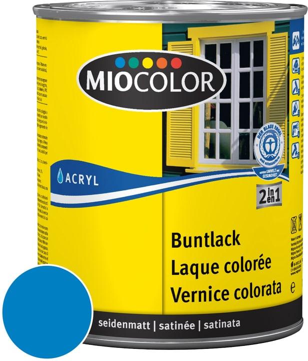 Acryl Vernice colorata satinata Blu cielo 125 ml Miocolor 660552600000 Colore Blu cielo Contenuto 125.0 ml N. figura 1